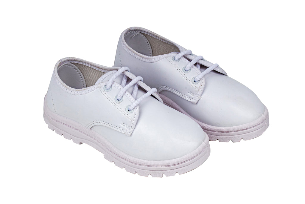 School Shoes Boys (White 3 to 10 Yrs) 95259