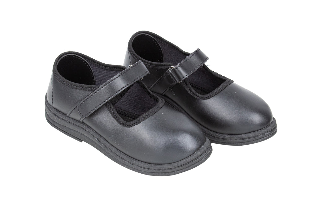 School Shoes Girls (Black 13 Yrs+) 95258