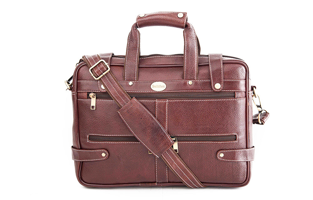 Leather Laptop Bag 36809