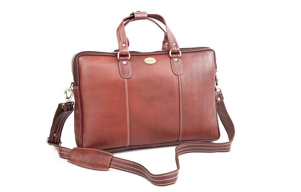 Leather Laptop Bag 36808