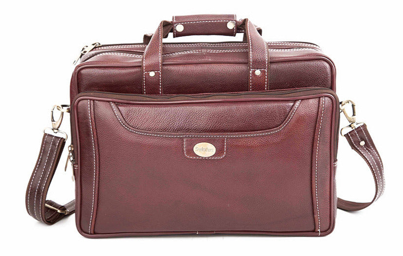 Leather Laptop Bag 36805