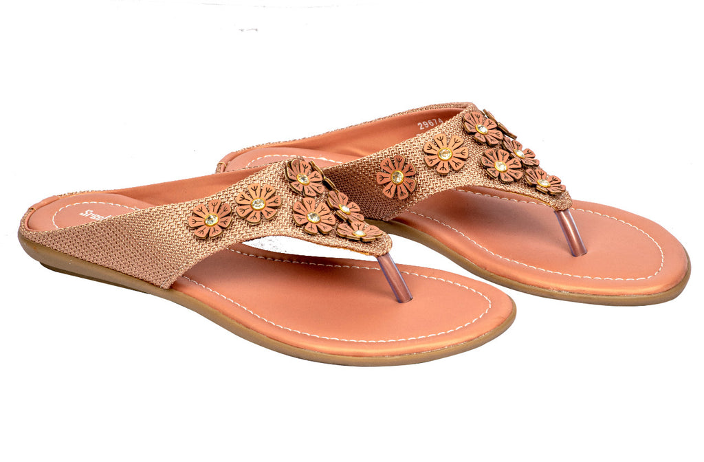 LADIES FLAT CHAPPAL 29674
