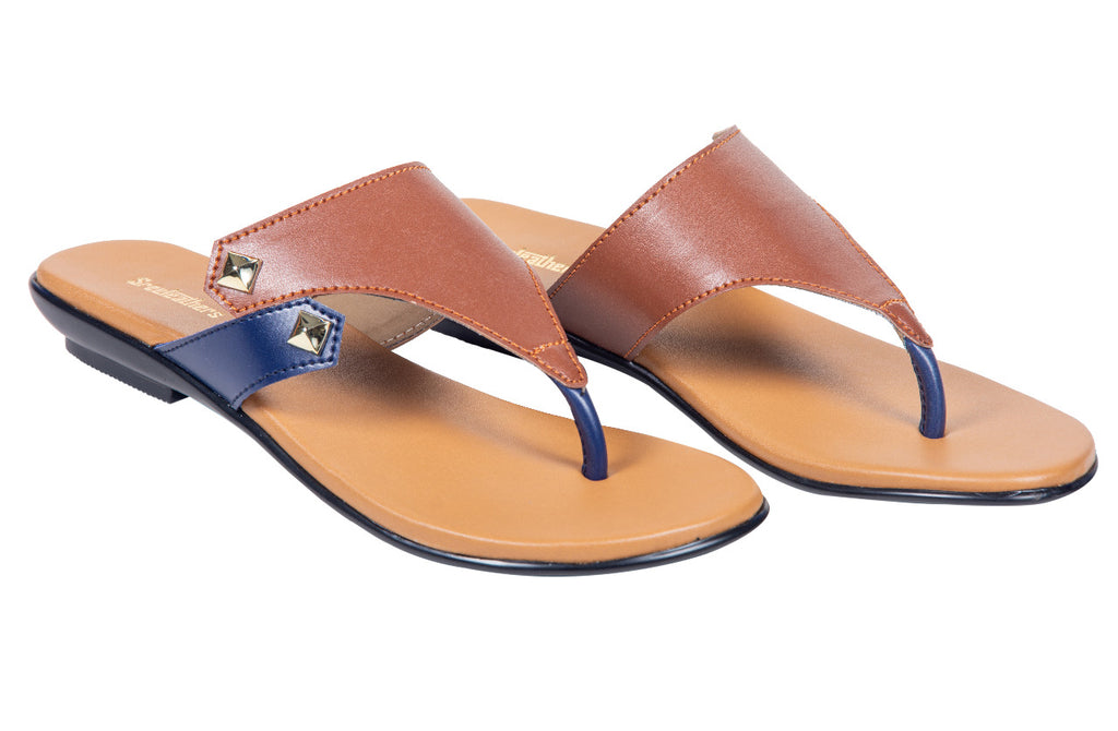 LADIES FLAT CHAPPAL 96650