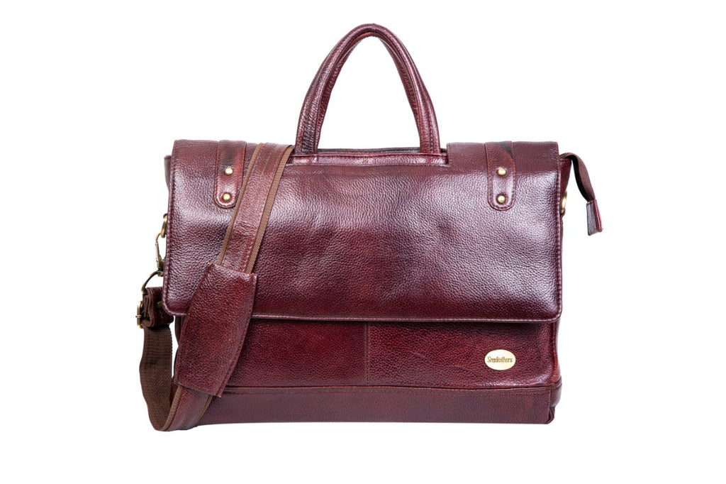 Leather Laptop Bag 36803