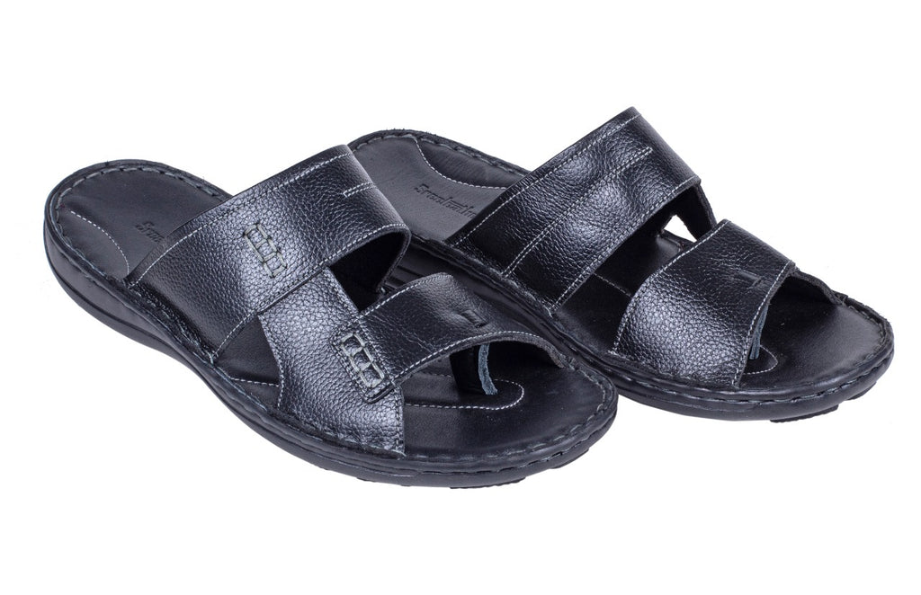 MENS LEATHER CHAPPAL 91816
