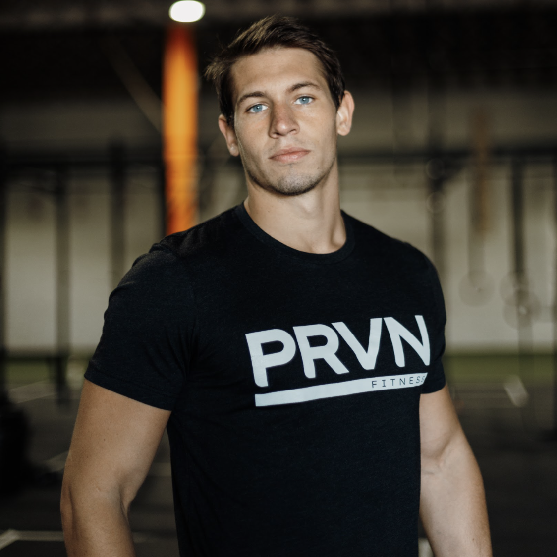 PRVN Heather Black Unisex Staple Tee