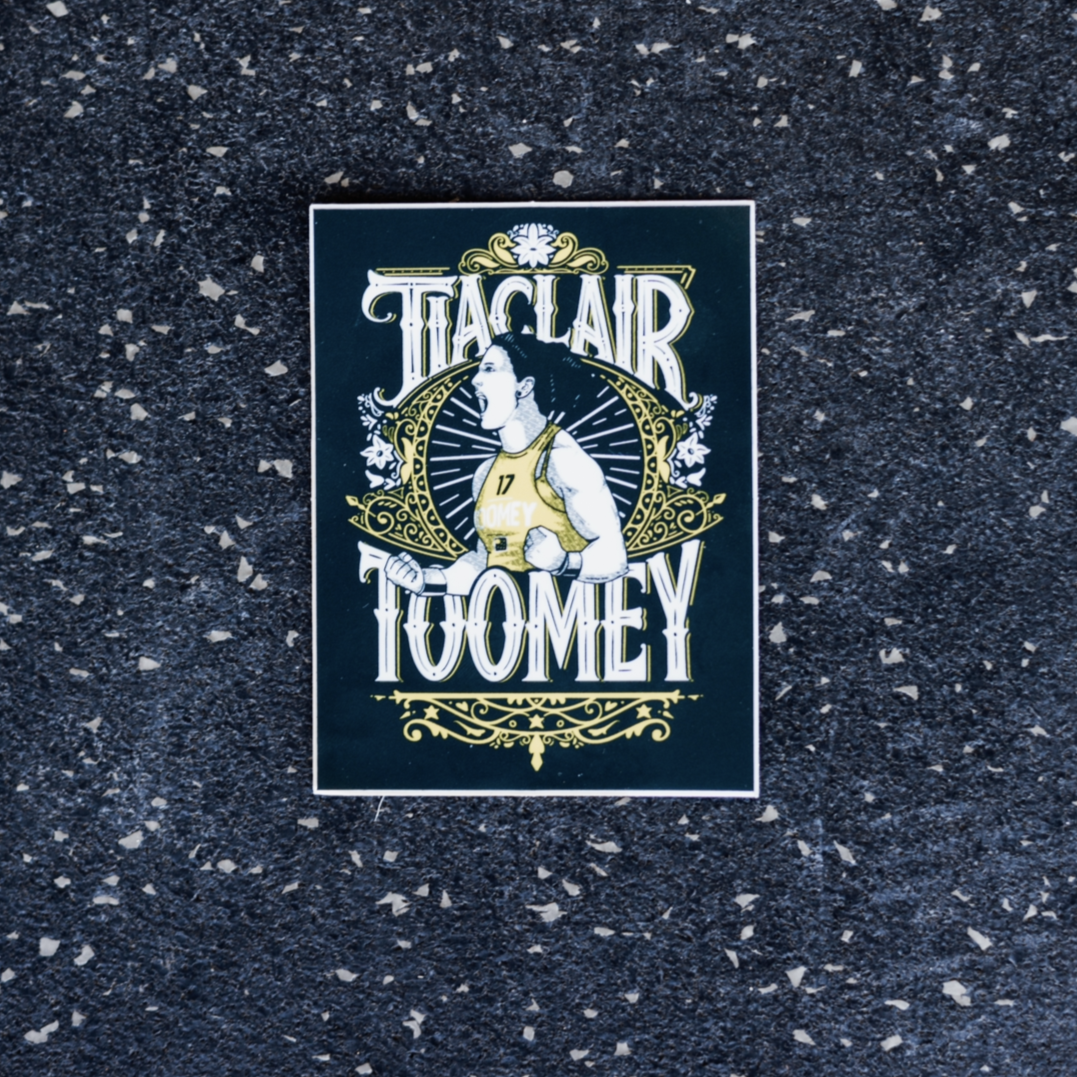 Tia- Clair Toomey Navy/Gold PRVN Sticker