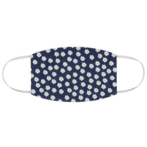 Blue Daisy Face Mask