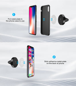 Round Magnetic Universal Phone Holder