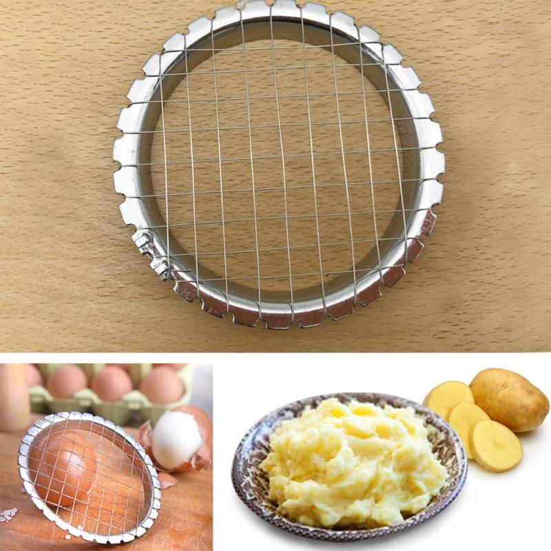 Stainless Steel Egg, Potatoes, Vegetables Slicer and Masher
