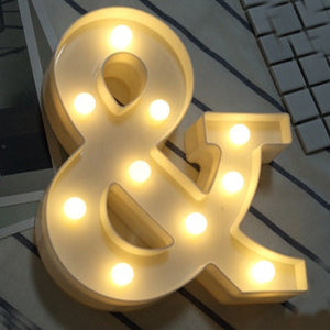Luminous LED Night  Letter