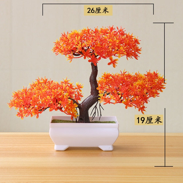 Articial Orange Yunsong Bonsai