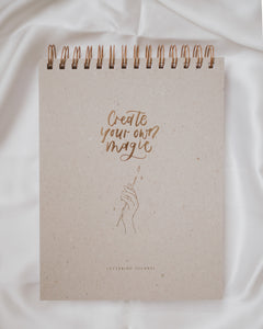 "Lettering Journal ""Create your own magic"""