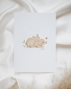 "Postkarte ""little rabbit"""