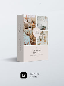 "Mobile Lightroom Preset ""Youdiful Living"""