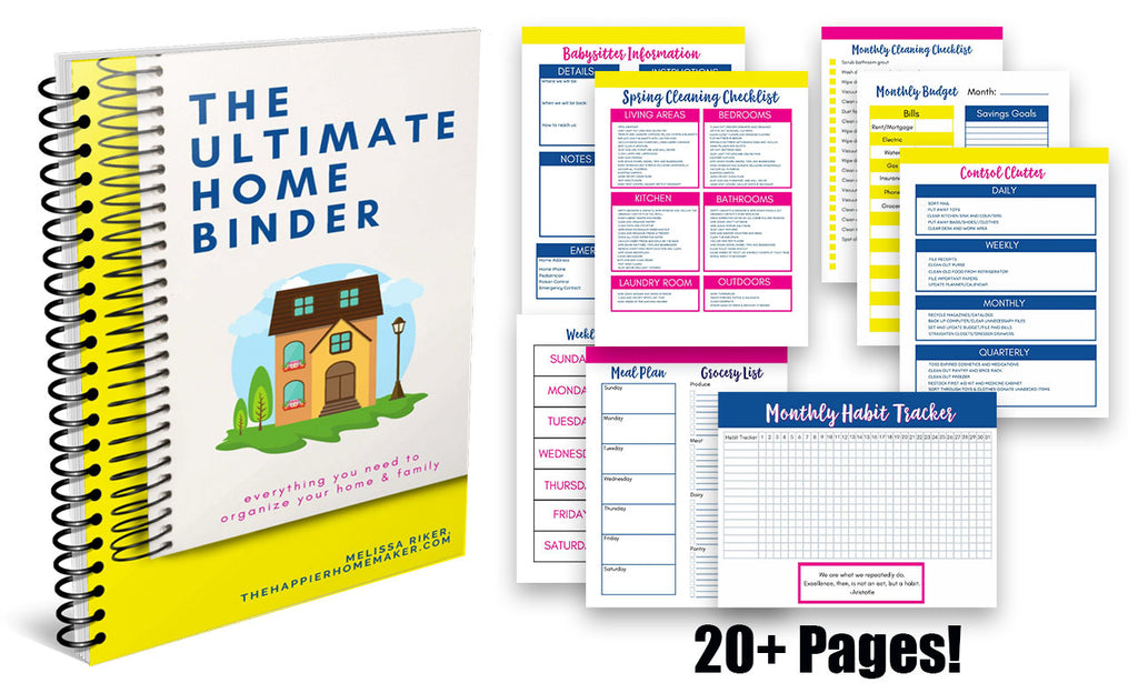 Ultimate Home Binder