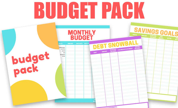 Budget Printable Pack