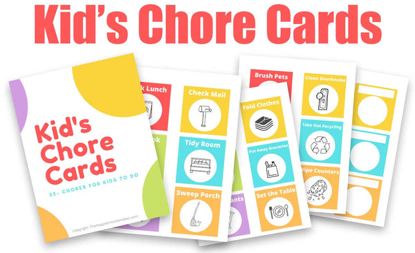 Kid's Chore Cards