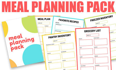 Meal Planning Pack