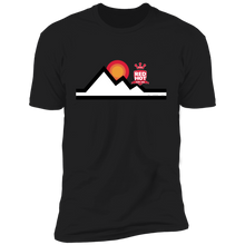 "Load image into Gallery viewer, Straight Cut ""Mountain High"" T-Shirt"
