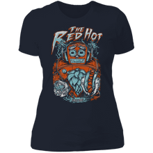 "Load image into Gallery viewer, Fitted Cut ""HopBot"" T-Shirt"