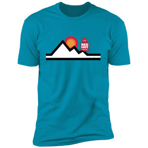 "Straight Cut ""Mountain High"" T-Shirt"