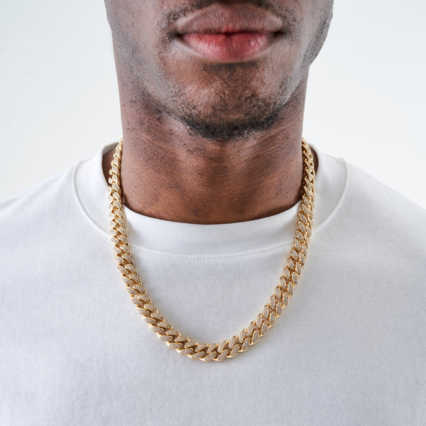 12MM CUBAN CHAIN - GOLD