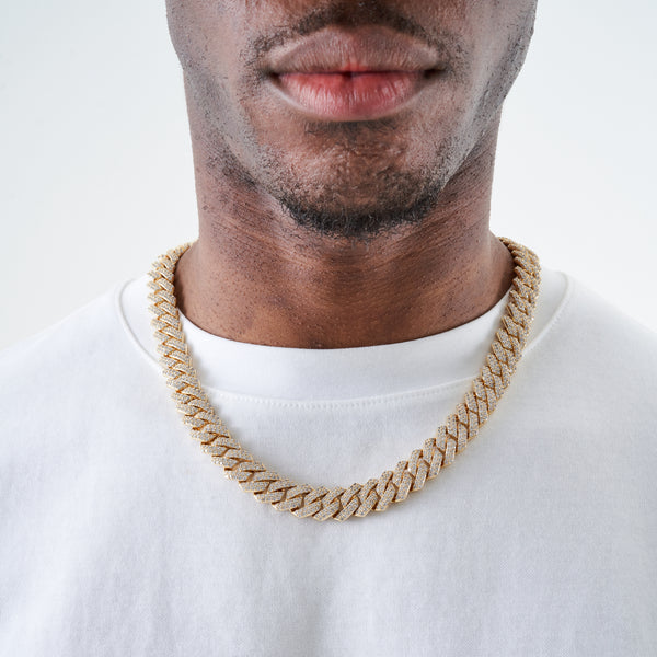 14MM PRONG CHAIN - GOLD