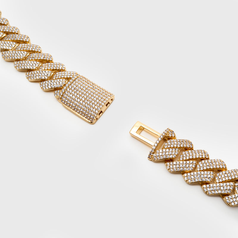19MM PRONG CHAIN - GOLD
