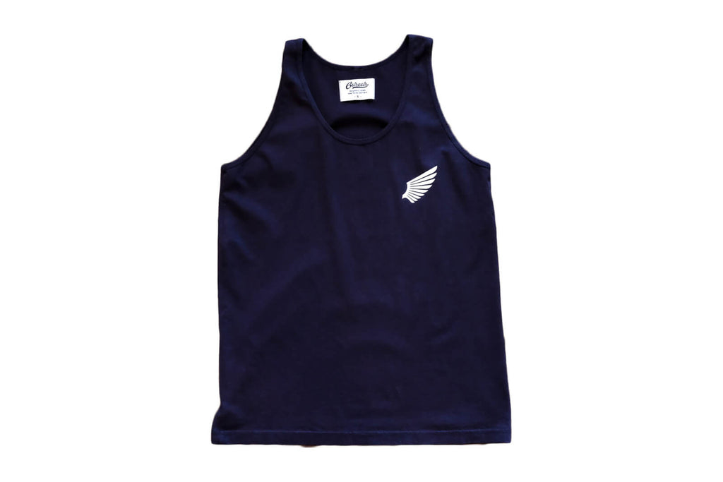 Flight Tank Top - Navy