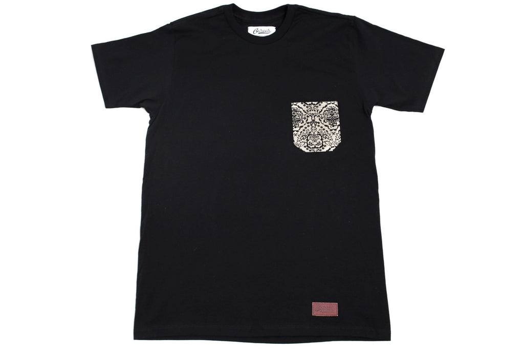 Renaissance Pocket Tee - Black