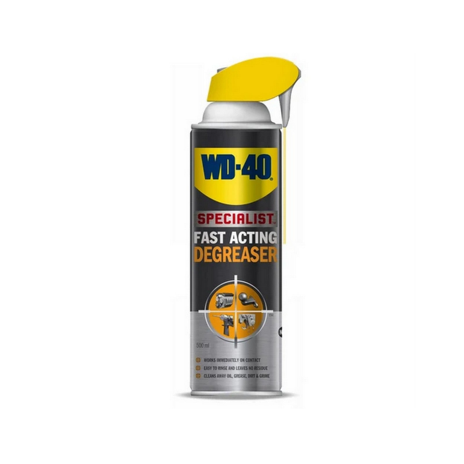 WD-40 ENGINE DEGREASER  | FAST AND ACTING (500 ml)