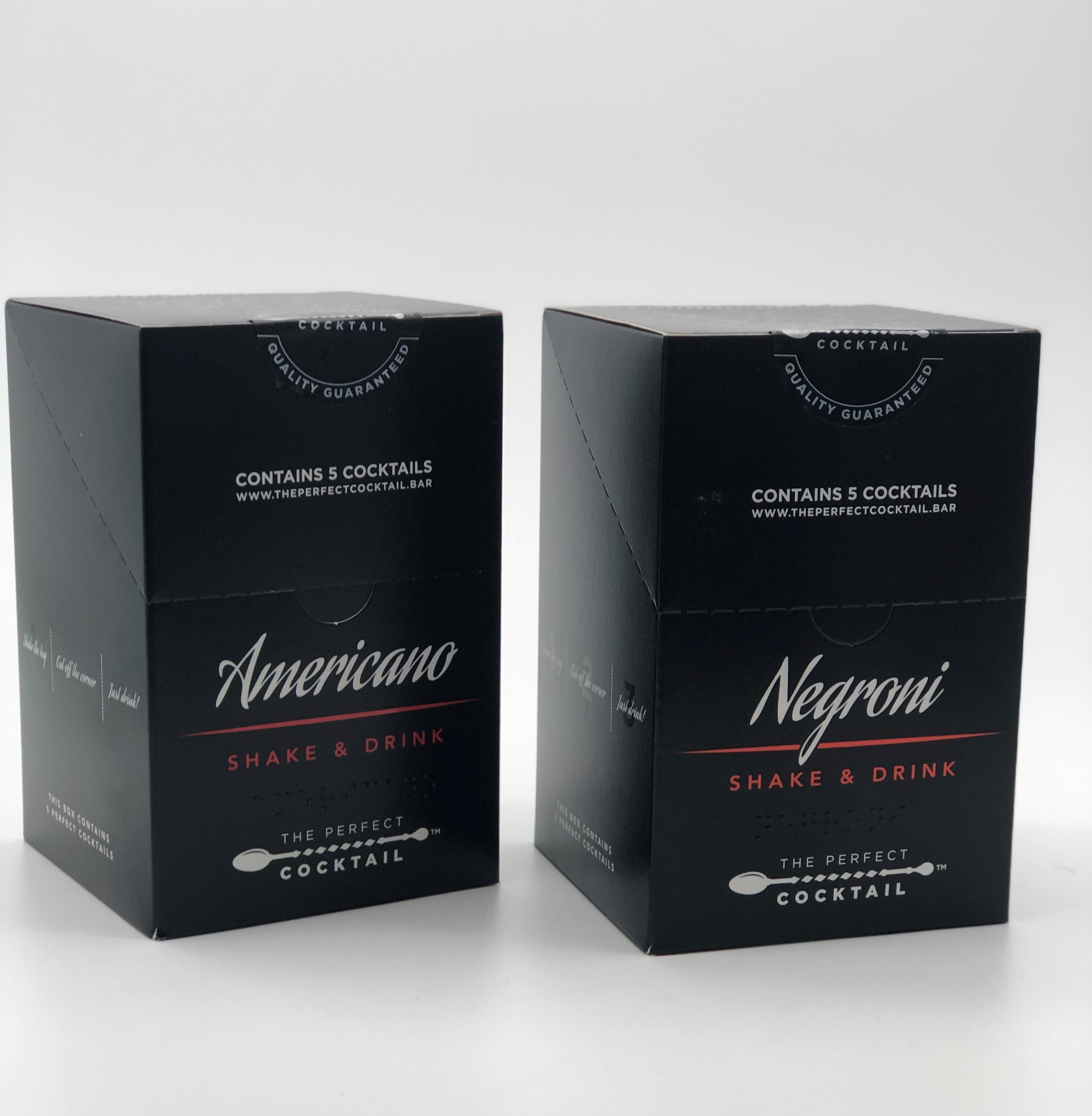 The Perfect Cocktail Negroni Variety Pack