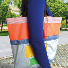Upcycled Tote Bag – Various Colours