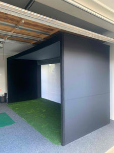 The Big Bay fitted into a low ceiling garage. the perfect fit