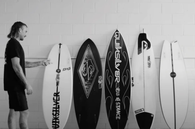 Mikey Wright x R&D Quiver Reveal