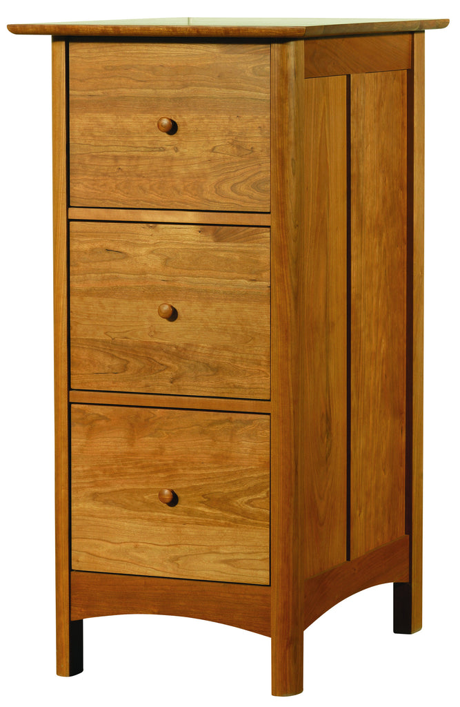 Heartwood & Burlington 3-Drawer File Cabinet