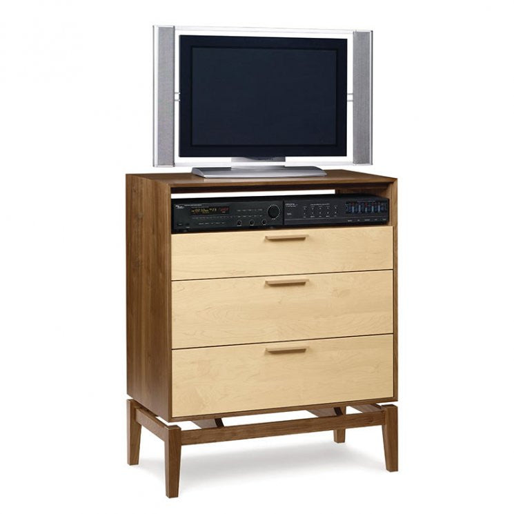 SoHo 3 Drawer Chest and TV Organizer