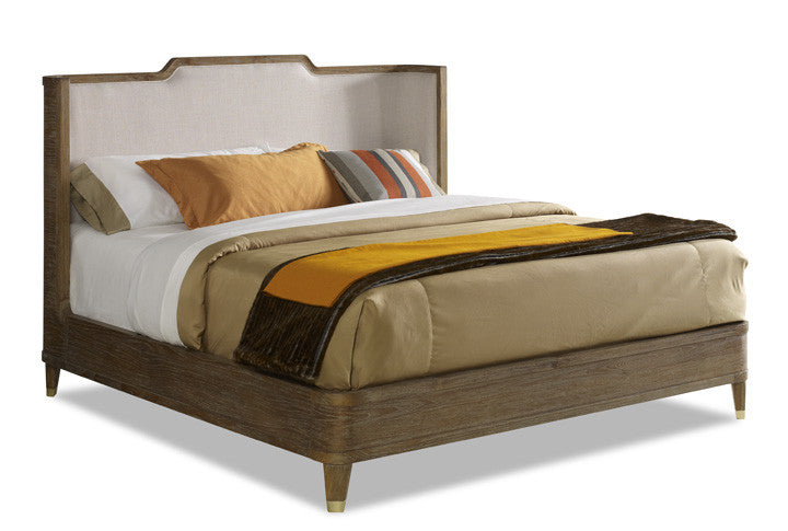 Atherton Bed Frame - Cerused Teak