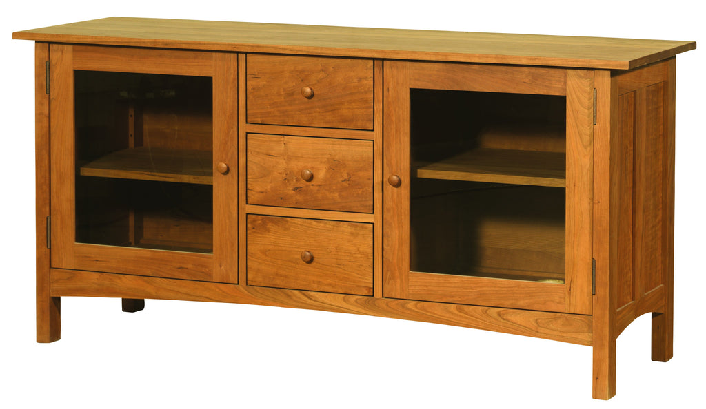 Heartwood & Burlington 3-Drawer / 2-Door Media Console