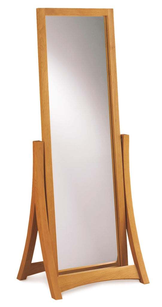 Copeland Cherry Wood Floor & Wall Mirror