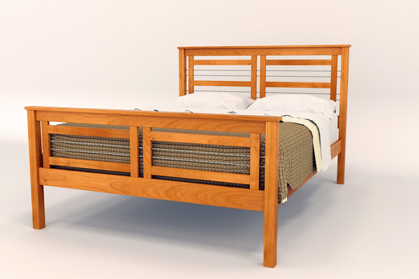 Cable Crossing Bed Frame