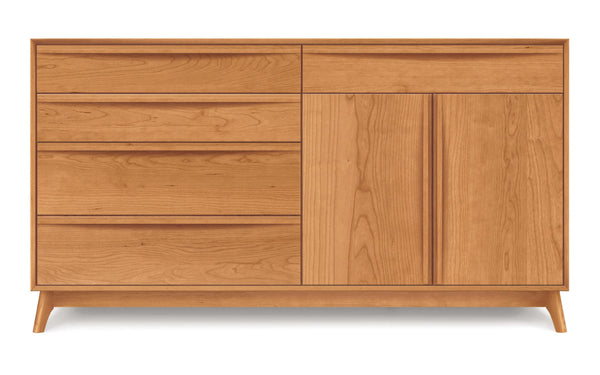 Catalina 5 Drawer, 2 Door Dresser