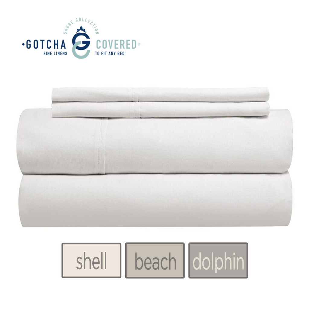 Gotcha Covered: 310 Count Shore Sheet sets