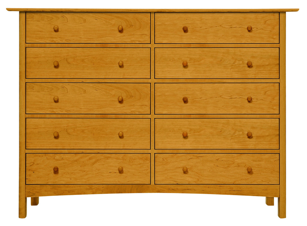 Heartwood & Burlington 10-Drawer Bureau