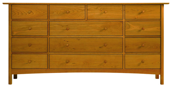 Heartwood & Burlington 13-Drawer Dresser