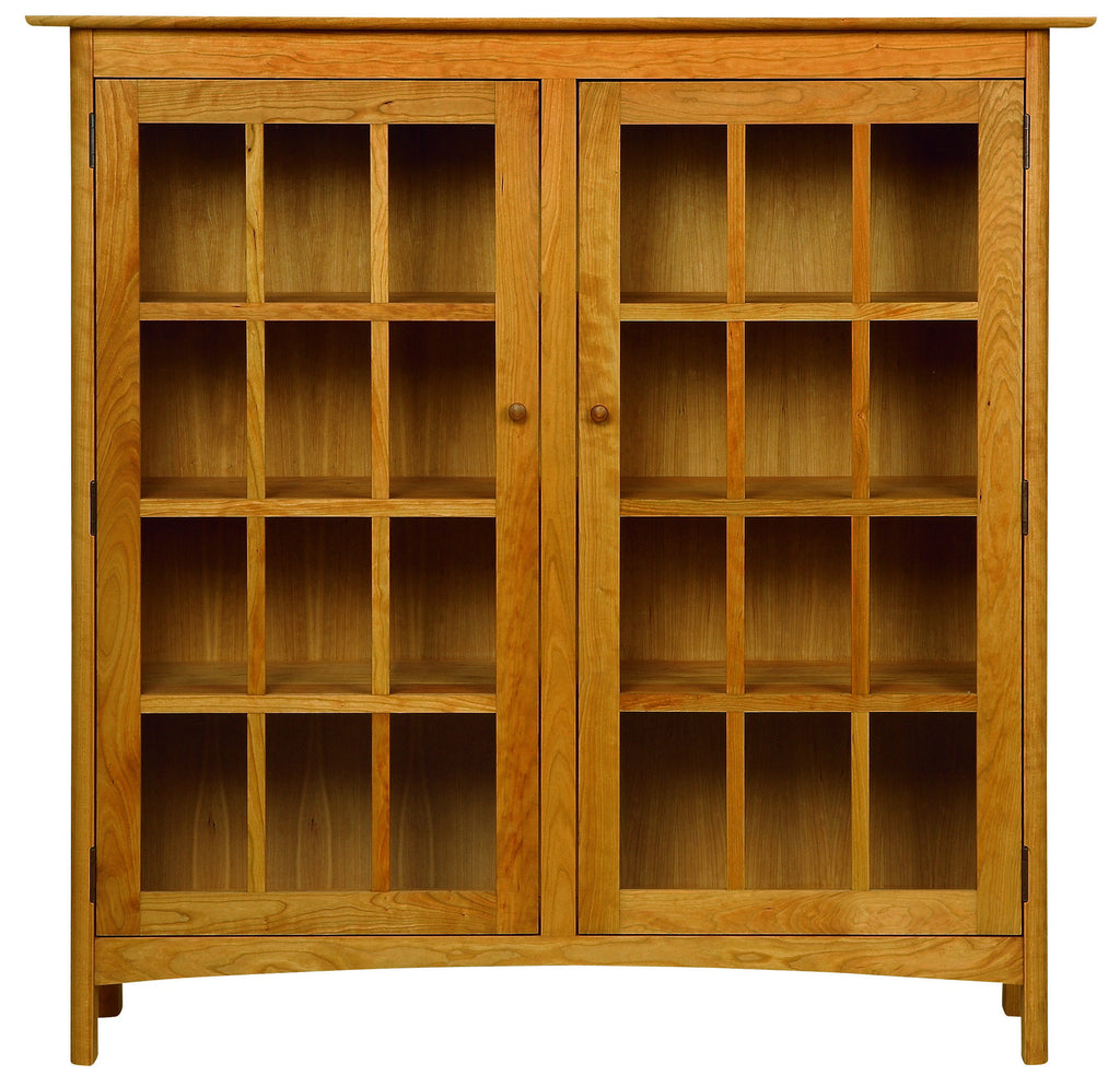 Heartwood & Burlington 2-Door Bookcase with Glass Doors