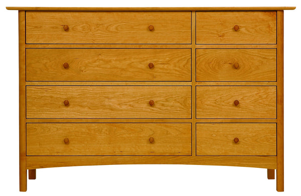 Heartwood & Burlington 8-Drawer Dresser