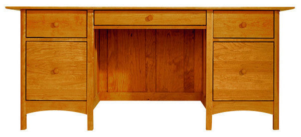 Heartwood & Burlington Executive Desk