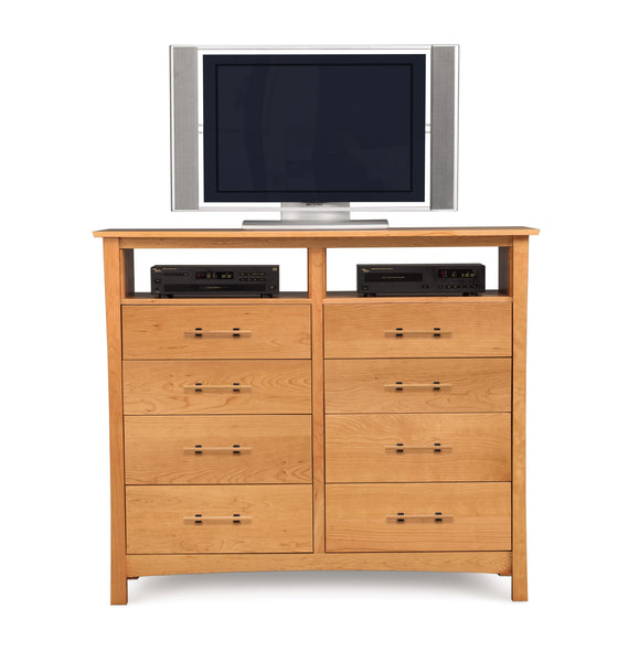 Monterey 8 Drawer Dresser with TV Organizer